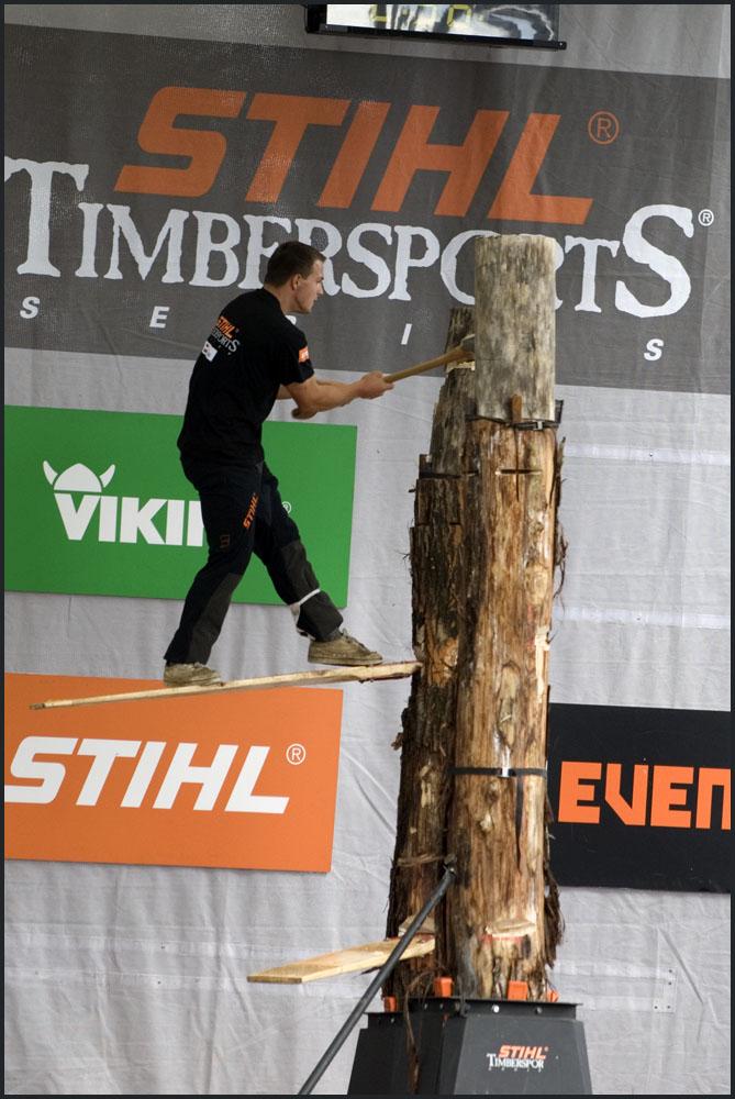 Ewald Berdan - Timbersports
